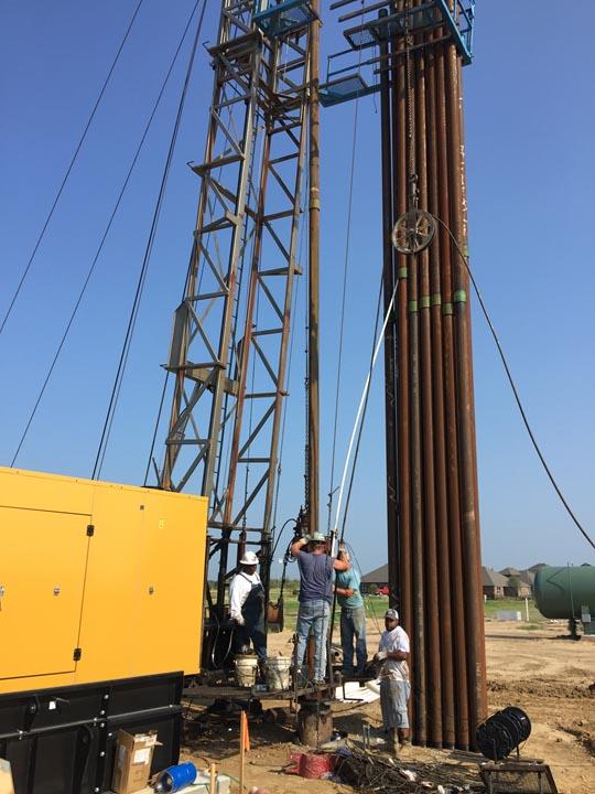 Drilling the Silverado Well