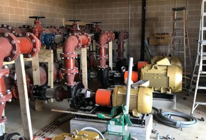 Silverado Pump Station Inside