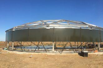 Silverado Tank Under Construction