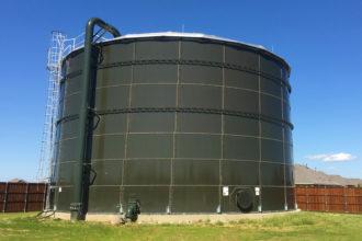 Silverado Water Tank Completed