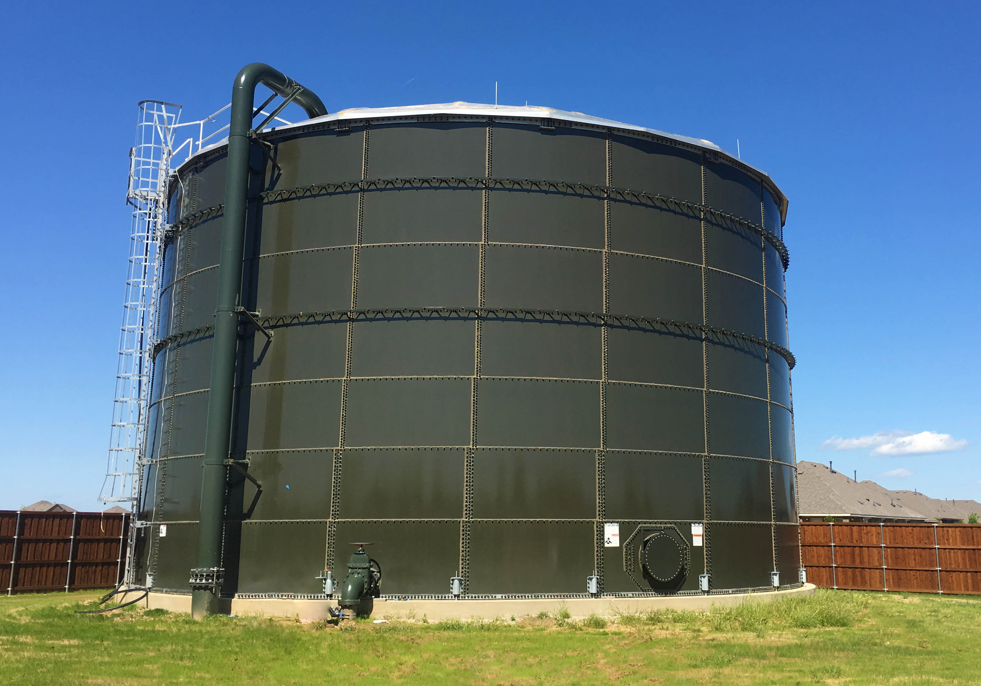 Silverado Water Tank Completed